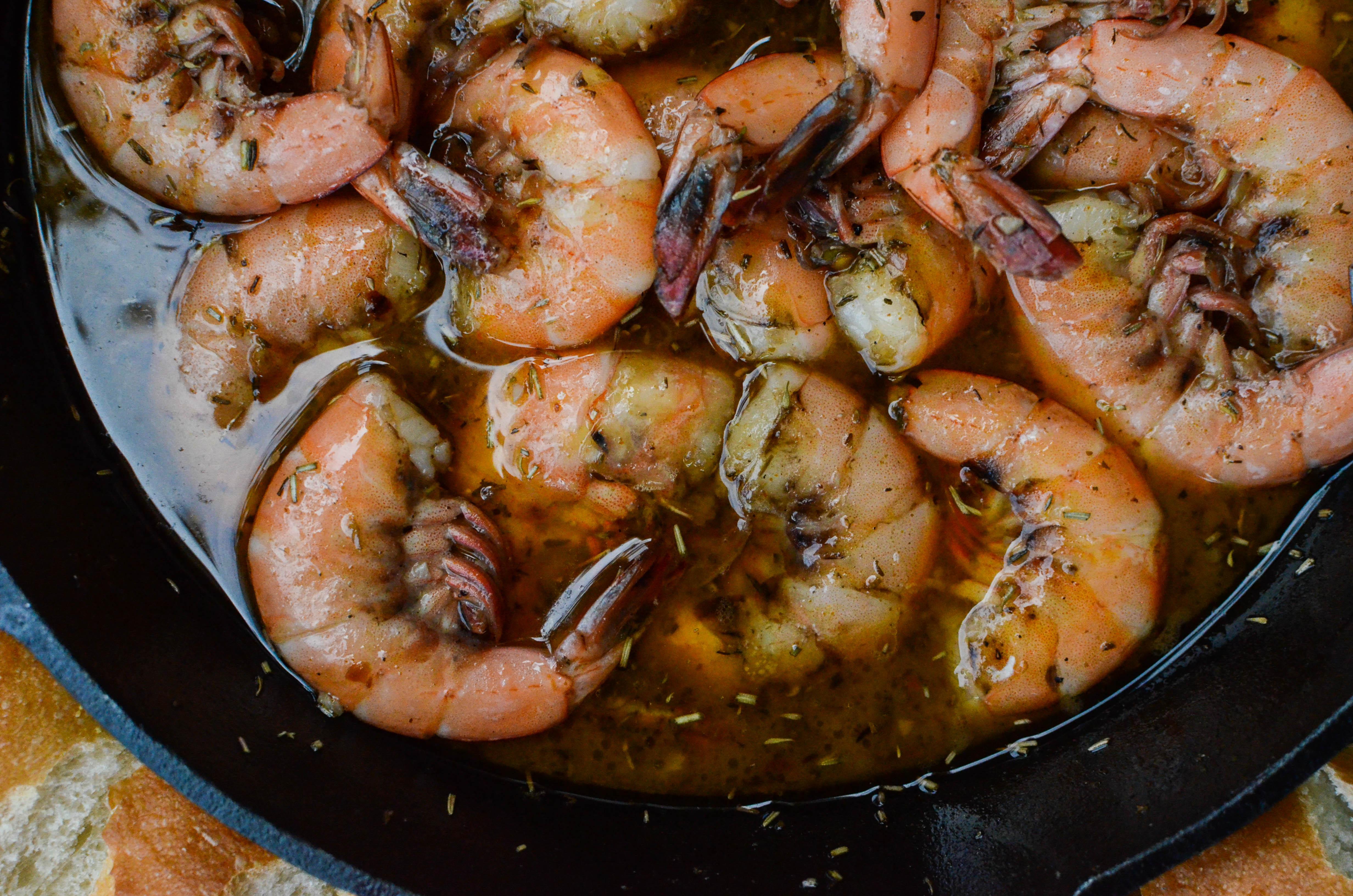 shrimp overhead