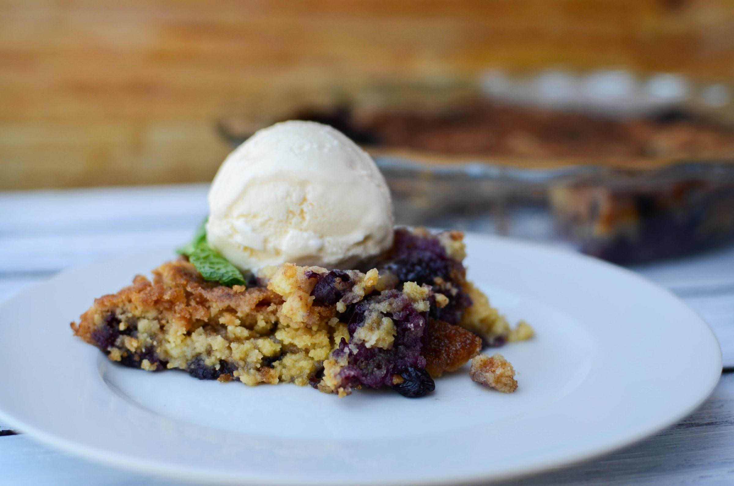 Blueberry Crisp Recipe With Cake Mix