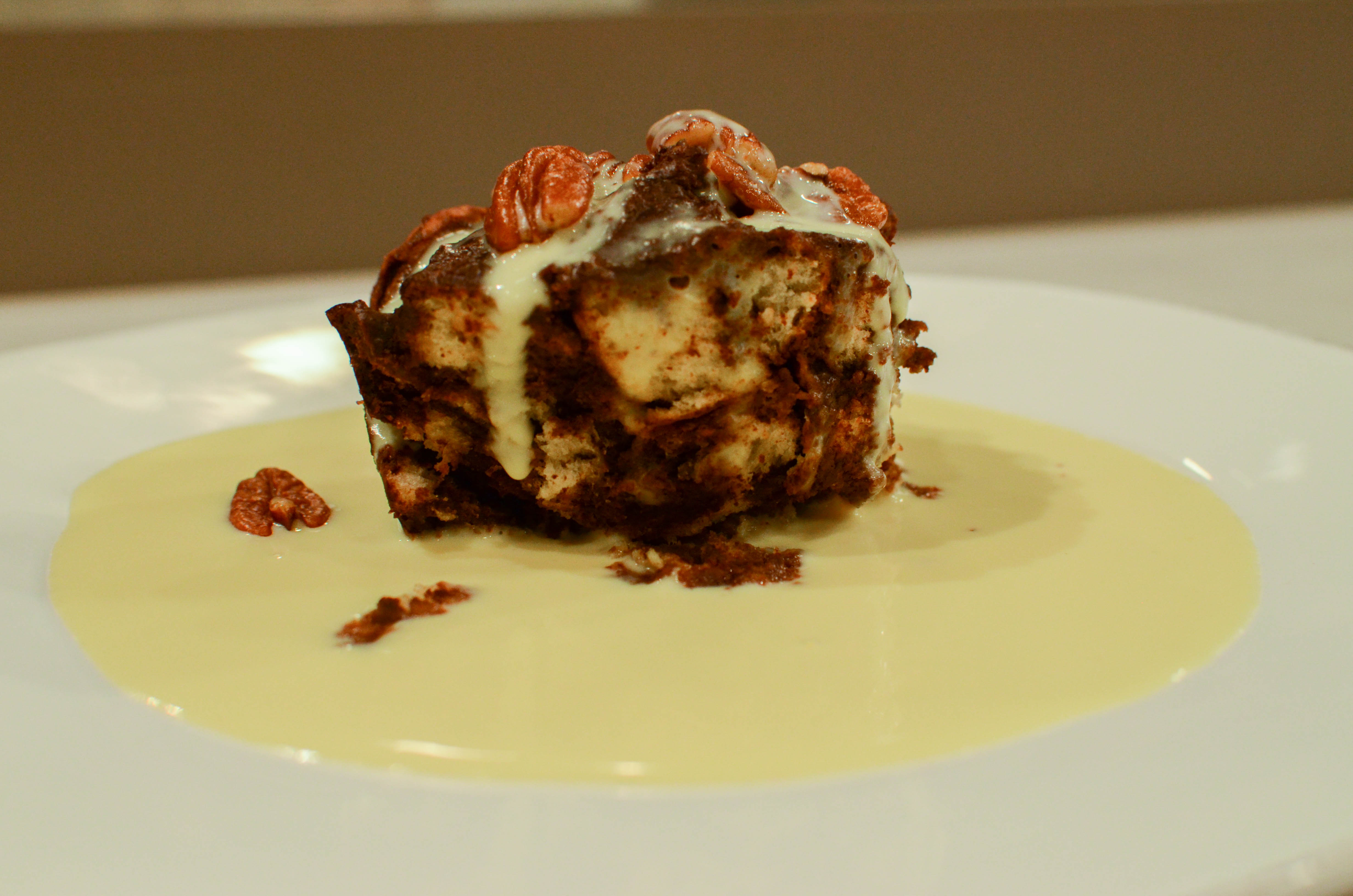 Bittersweet Chocolate Bread Pudding - VeryVera