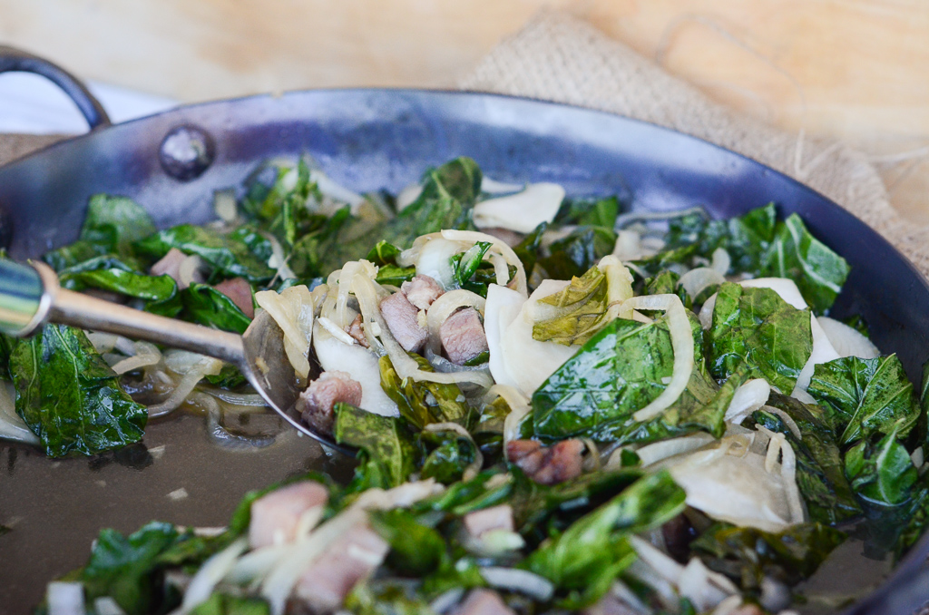 Southern Stir-Fry with Turnips and Greens
