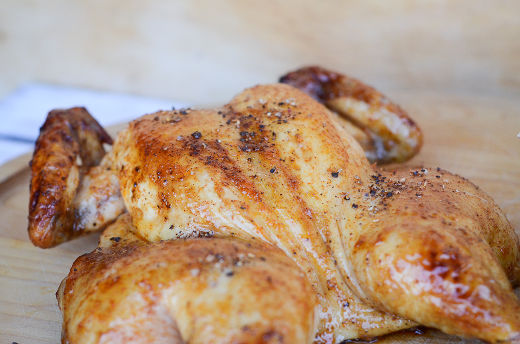 Sorghum Butter Roast Chicken