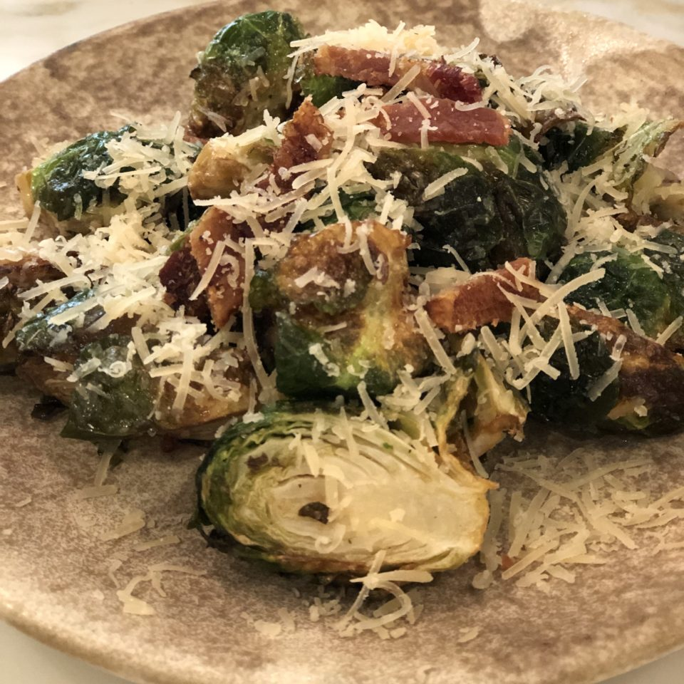 Flash-fried Brussel Sprouts