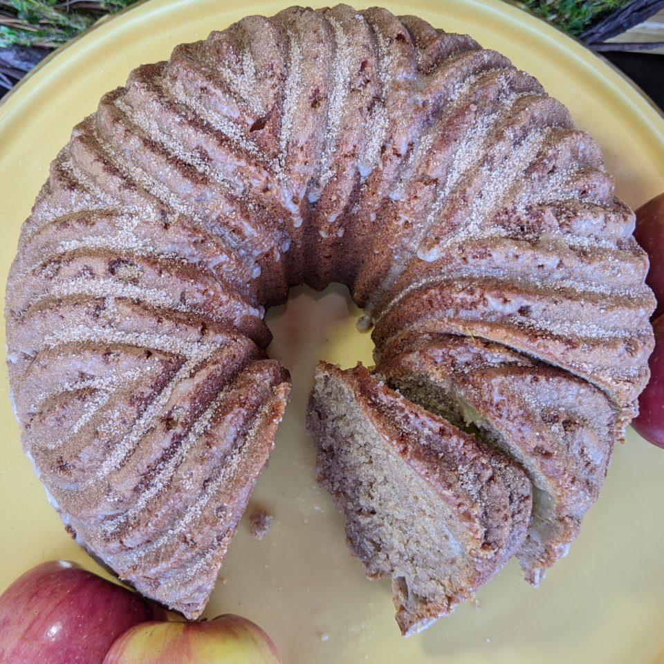 Apple-Cinnamon Sugar Doughnut Bundt Cake