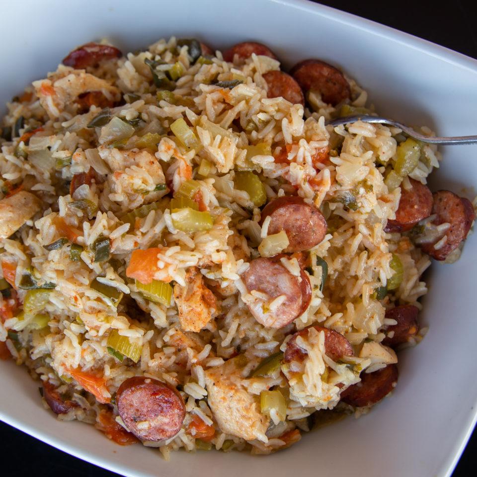 Instant Pot Chicken and Sausage Jambalaya